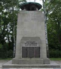 Erfurt (Zentralfriedhof - 1  Weltkrieg), Thüringen
