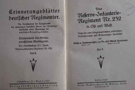erinnerungsblätter deutscher regimenter