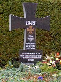 Osterwieck St 228 Dtischer Friedhof Landkreis Harz Sachsen